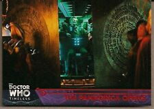 DOCTOR WHO TIMELESS RED FOIL PARALLEL BASE CARD #75 PANDORICA MATT SMITH #10/25