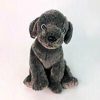"""Rare TY Beanie Buddies Frisbee the Weimaraner Puppy Dog 12"""" Medium Plush Toy"""