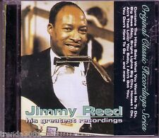JIMMY REED Greatest Recordings CD Classic HONEST I DO HUSH HUSH CLOSE TOGETHER