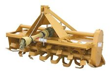 Rotary Tiller 4 ft - Gear Driven - 36 Tines - PTO Shaft HP 20 to 35 - 6 Flanges