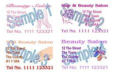 Hairdressing Nails Beauty Mobile Business Cards Designed Printing 100 Cards