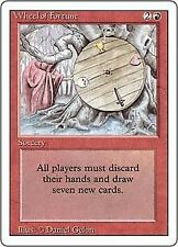 Magic the Gathering MtG Revised Rare Wheel of Fortune [Heavily Played]