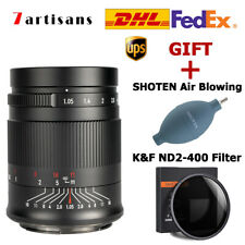 7artisans 50mm F1.05 Large Aperture Full Fame Lens for Canon EOS RF R5 R6 camera