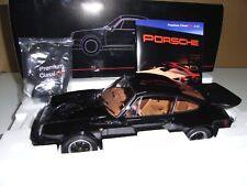 PORSCHE 911 CARRERA 3.2 COUPE WITH SPOILER KIT BLACK 1:12 1983  PREMIUM CLAXXICS