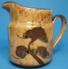 """Takahashi San Francisco Ceramic Hand Painted 6"""" Tall Pitcher Made in Japan"""