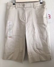 """NEW Anne Klein Sport """"Stretch"""" Bermuda Shorts Size 6"""
