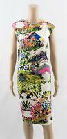 AX Paris Tropical Print Bodycon Midi Dress