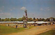 Mobile AL Palms Motel~Roadside US 90~Pool~Sky Ranch Steak House 1960s Cars