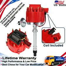 Replacement HEI Distributor Coil for Chevy 262-454 5.0L 5.7 7.4L V8 SBC BBC 8362