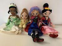 "Disney Store Disney Princess Large Plush Soft Dolls 20"" Bundle x 4 | Free P&P ✔️"