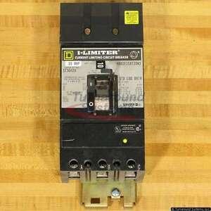 Square D FI36020YP Circuit Breaker, I-Line, I Limiter, 200 kAIR, FI36020, Used