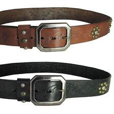True Religion Los Angeles Studded Premium Leather Belt