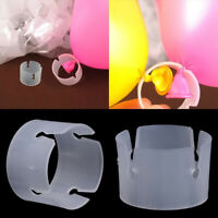 50 pcs Balloon Arch Stand Connectors Clip Ring Buckle Wedding Birthday Decor CN
