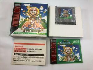 Mario Tennis; Virtual Boy; Japan Import