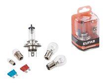 Auto-Lampenbox H4 12 V Ersatz-Lampen Glühlampen Birnen-Kasten inkl. Sicherungen