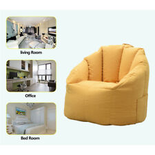 Large Bean Bags Cover Chair Sofa Couch Cover Indoor Lazy Lounger Cover Home US