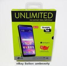 "Straight Talk LG Stylo 5 L722DL 4G LTE Andriod 9.0 6.2"" 32GB 13MP Black (LTE-V)"