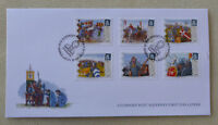 2016 ALDERNEY 950th BATTLE OF HASTINGS SET OF 6 STAMPS FDC FIRST DAY COVER