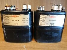 More details for matched pair parmeko neptune 10k/18024 oil transformer plessey, stc,partridge