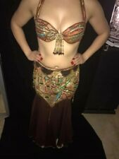 USED PROFESSIONAL BELLY DANCE COSTUME #4