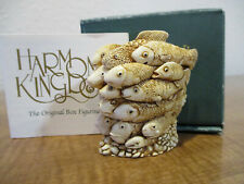Harmony Kingdom School's Out Fish School Uk Made Box Figurine Early Pc Sgn