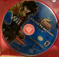 Yu-Gi-Oh 5D's Duel Transer (Nintendo Wii, 2010) - DISC ONLY Tested and working