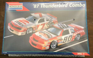 Monogram '87 Thunderbird Stock Car Combo Model Kit #6392 NASCAR