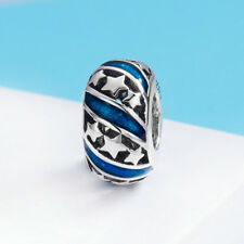 1Pcs Moon Star 925 Sterling Silver European Charm Bead Fit Bracelet Necklace