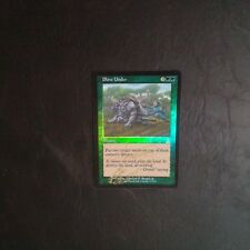 1X Plow Under - UZD - * Signed by Beard Jr. FOIL English, SEE PICTURES * MTG #1