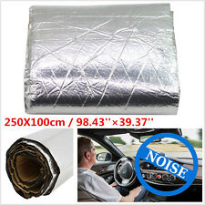 2.5X1M Car Firewall Sound Deadener Heat Shield Insulation Deadening Material Mat