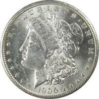 1900 O $1 Morgan Silver Dollar US Coin AU About Uncirculated