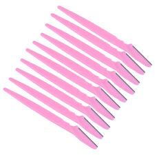 10PCS/Set Eyebrow Razor Scissor Trim brow Tool Blade Face Hair Removal Hot