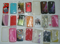 MOBILE PHONE COVER JOB LOT CASE COVERS MIXED ASSORTED MARKET STOCK FREE POST