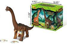 "Brachiosaurus Walking Dinosaur 12"" Tall Toy Figure with Lights & Sounds 00006000"