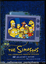 The Simpsons - Complete Fourth Season Four 4 (DVD, 2012, Region 1)