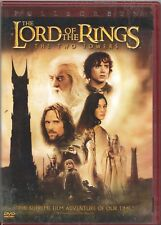 Movie DVD - THE LORD OF THE RINGS THE TWO TOWERS - Pre-Owned - New Line Cinema