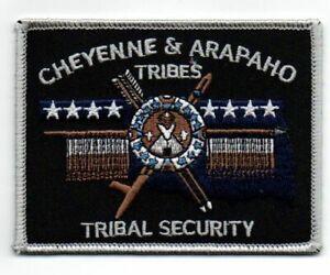 OKLAHOMA OK CHEYENNE AND ARAPAHO TRIBES TRIBAL SECURITY NEW PATCH POLICE SHERIFF