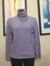 Sutton Cashmere Womens Turtleneck 100% Cashmere Sweater Size L
