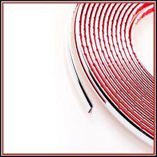 5 METRO 9mm Argento Cromato Auto Styling Stampaggio Trim STRIP ADESIVO