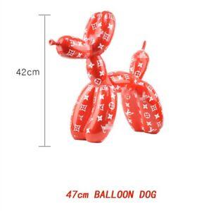 New Design Balloon Dog Special Statue Modern Sculpture Home Decoration Resin Ar