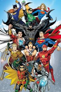 Justice League Of America - JLA - Poster / Print (DC Universe - Rebirth)