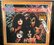 KISS HAPPY NEW YEAR 1976 & 1977 CONCERT TOUR NUMBERED 500 COLORED VINYL 2 LP SET