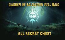 Garden of salvation Raid Destiny 2 PC + Challenge