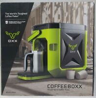 OXX COFFEEBOXX CBK250G Single Serve Coffee Maker Green (K-Cup Compatible) NEW