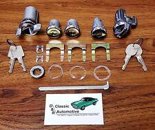 Complete Locks Set 69 70 Impala Door Trunk Ignition Glove Box 17pc Kit w/ 2 Keys