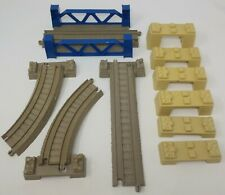 Thomas the Train & Friends TRACKMASTER Lot of Bridge Tracks - Risers, Supports +