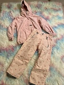 686 Hello Kitty Ski/Snowboard Winter Jacket and Pants - Youth Size Large
