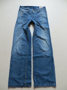 Diesel VOLVER Marlene Jeans Hose, W 29 /L 34, Hippie Style Wide Leg Schlaghose !
