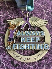 Always Keep Fighting medal (thank you gift, support for helping others)