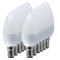 10/6/4x B22 E27 E14 3W 5W 6W 7W 8W LED Bulbs Light Spotlight Energy Saving Lamp
